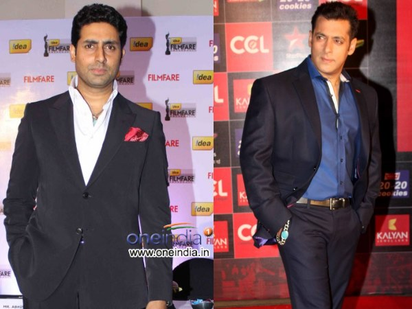 Salman Khan And Abhishek Bachchan