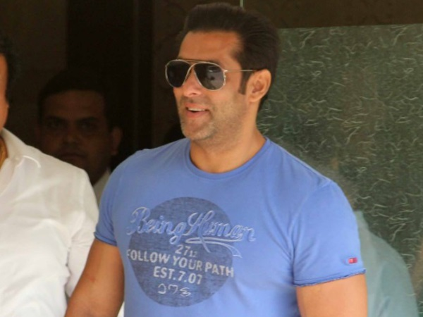Salman At Sister's Home
