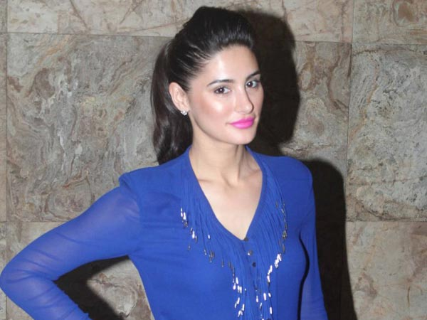 Nargis FaKhri In Blue