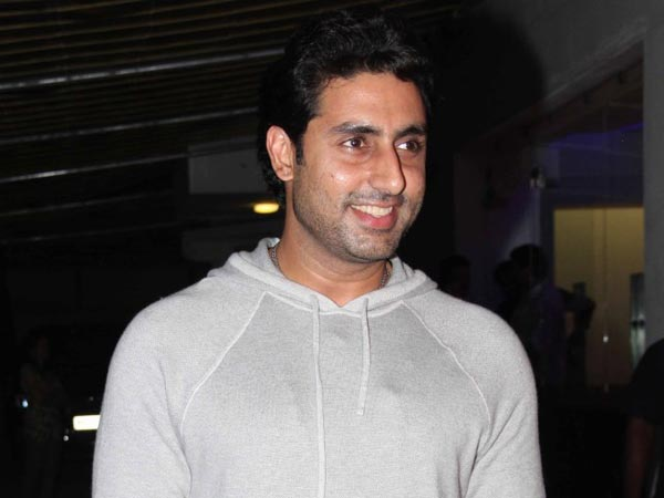 Abhishek Bachchan At The Screening