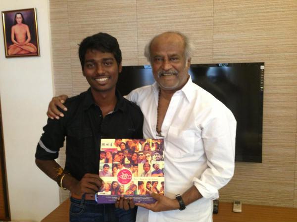 Rajinikanth With Director Atlee