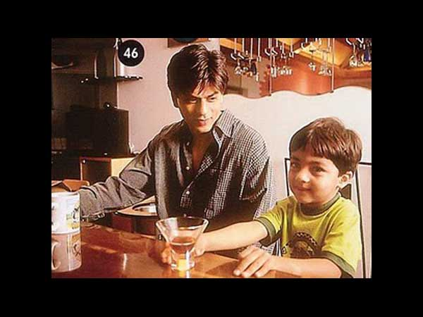 SRK's Dinner With His Son