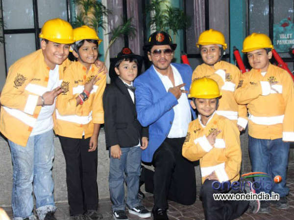 SRK with Kids in Kidzania