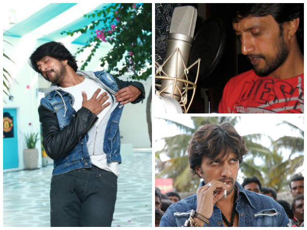 Sudeep As Playback Singer