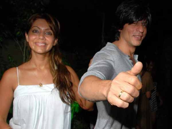 SRK Is Gauri's Inspiration