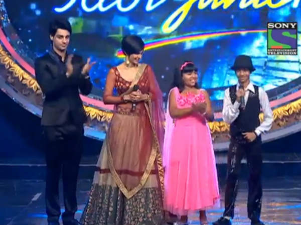 Bangalore Girl Anjana Padmanabhan   First Indian Idol Junior