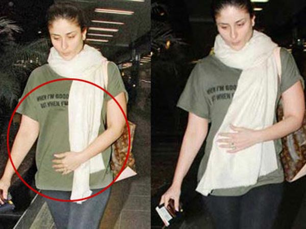 Kareena Kapoor At Mumbai Airport
