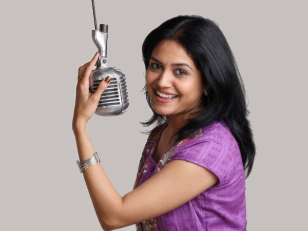 Sunitha Is Popular As Singer