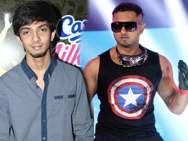 Anirudh And Honey Singh