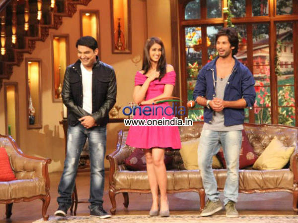 Shahid, Ileana With Kapil Sharma
