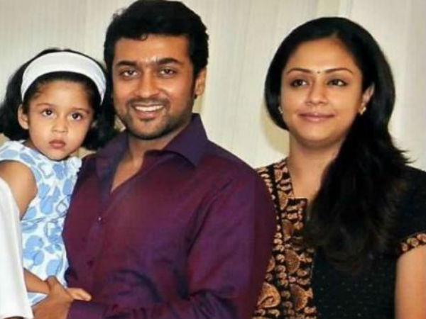 surya jyothika seventh year wedding anniversary
