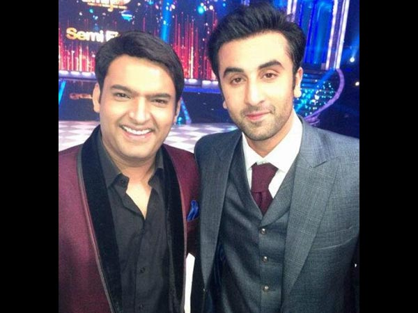 Ranbir Kapoor With Kapil Sharma