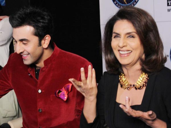 Ranbir With Nitu On KBC
