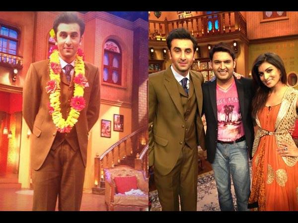 'Besharam' Ranbir Kapoor On KBC And Comedy Nights With ...