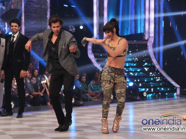 Lauren Gottlieb With Hrithik Roshan