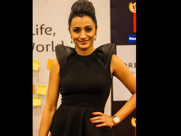 Trisha To Be Seen In RUM