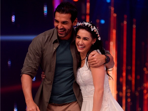 John Abraham With Lauren