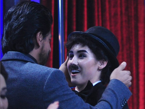 Lauren With Shahrukh Khan