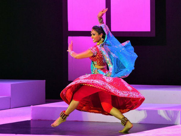 Nina's Bollywood Dance At Competition