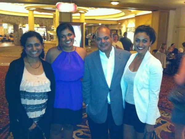 Nina's Family At Miss America Competition