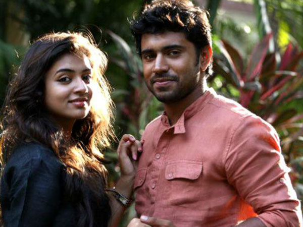 Nivin Pauly and Nazriya Nazim