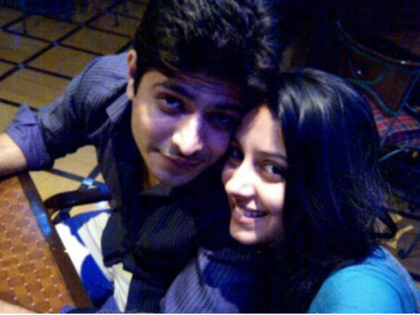 Pratyusha With Ex-Boyfriend