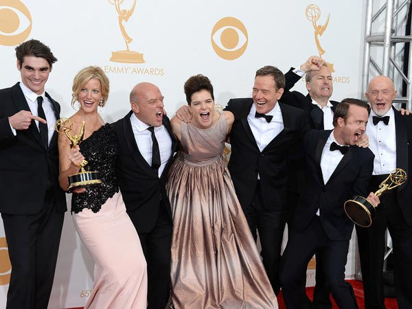 Winners of the Best Drama Series Award for Breaking Bad