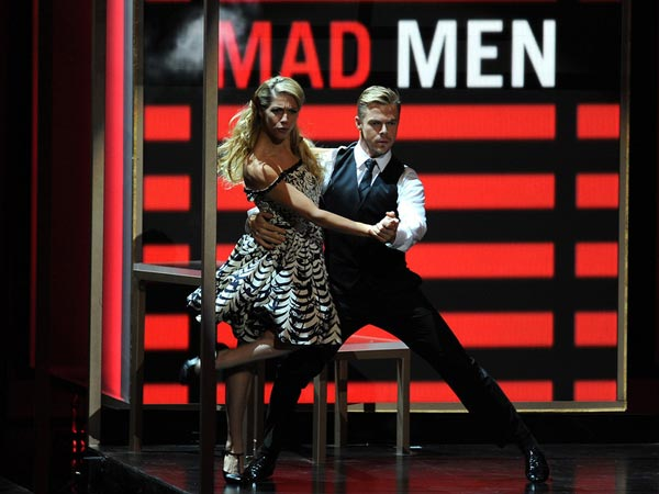 Choreographer Derek Hough Performs