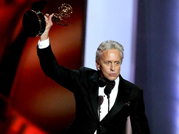 Michael Douglas Accepts The Award