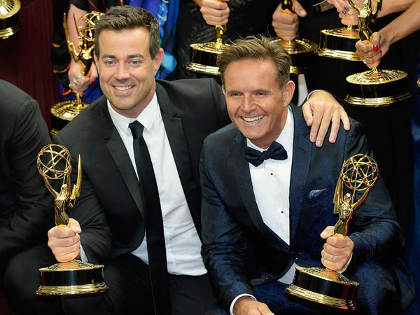 Producer Carson Daly  and Executive Producer Mark Burnett