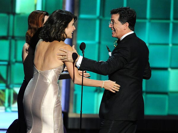 Stephen Colbert Receives Award