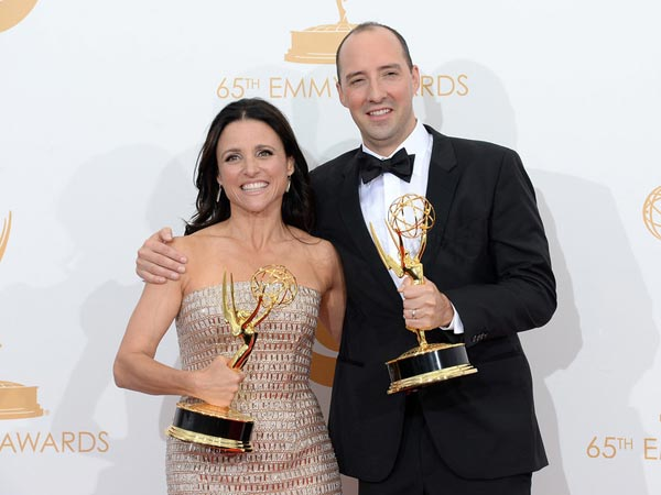 Julia Louis-Dreyfus, Tony Hale Pose