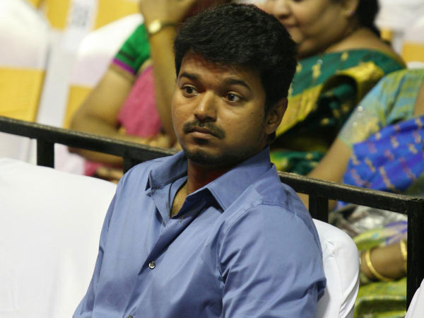 Vijay Maintained Silence