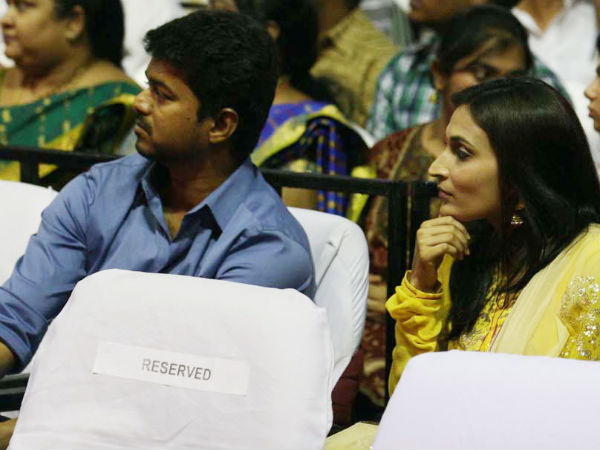 Vijay With Aishwarya