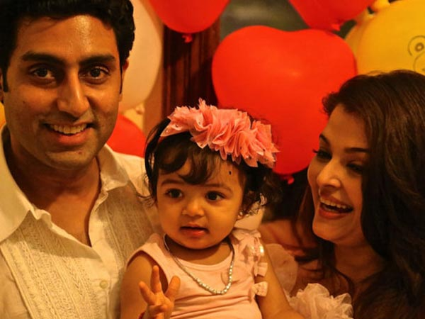 The Bachchan Girl With Her Parents