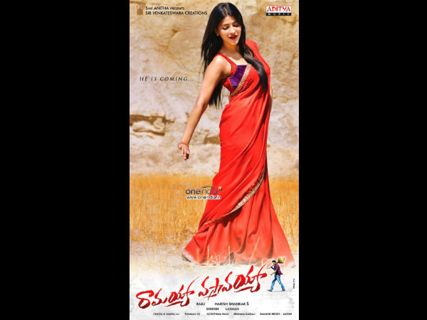 Shruti Hassan's Role In RV
