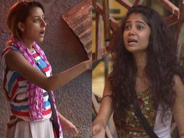 Ratan And Pratyusha Catfight In Bigg Boss
