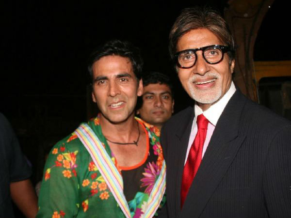 Big B Introduces Akshay