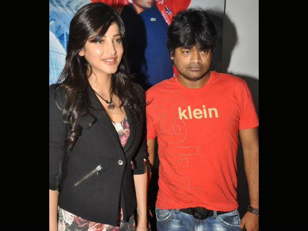 Shruti Feels Great To Work With Harish Again