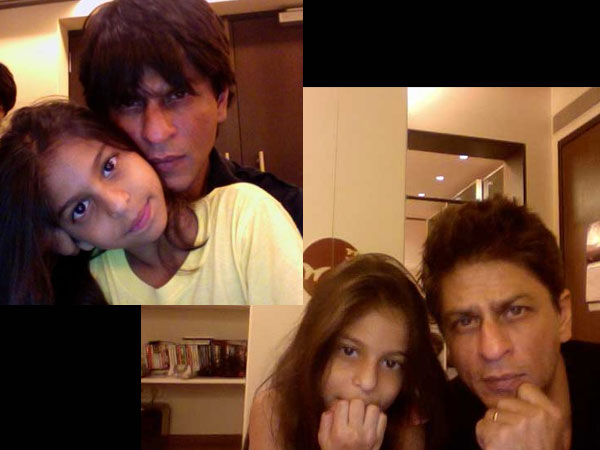 SRK and Suhana