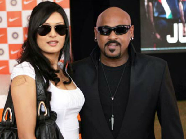 Vinod Kambli And Andrea