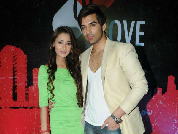 Sara Khan and Paras Chhabra