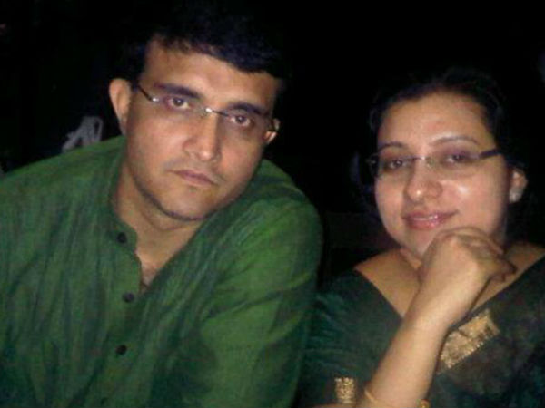Sourav Ganguly And His Wife Dona Ganguly