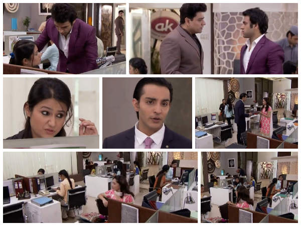 Ankita's First Day At Office