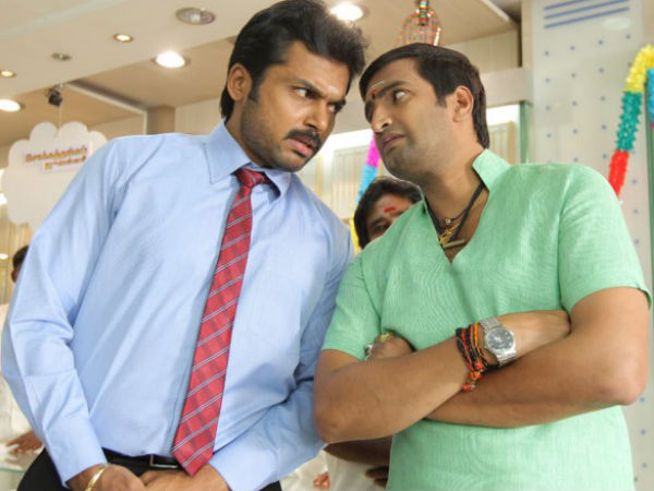 Wrong From Santhanam's Part