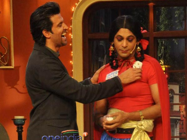 Hrithik With Gutthi