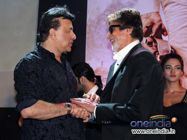 Big B And anu Malik