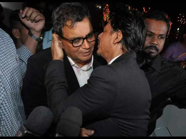 Shahrukh And Ghai