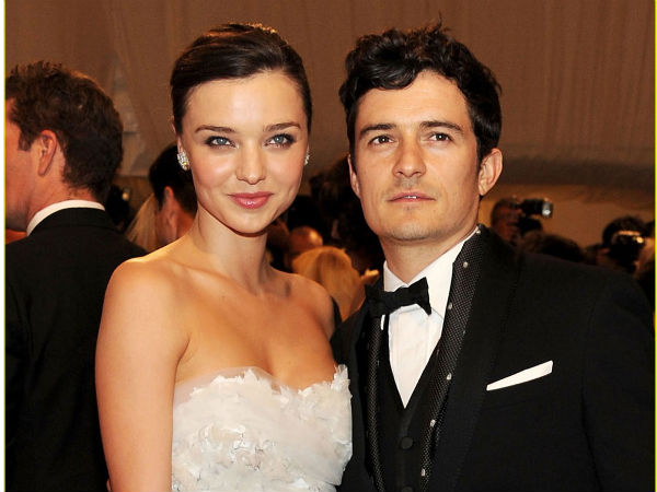 Orlando Bloom and Mirnda Kerr