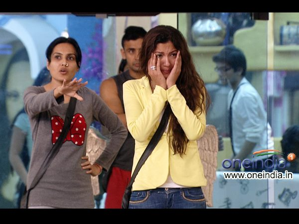 Gauhar Burst Into Tears